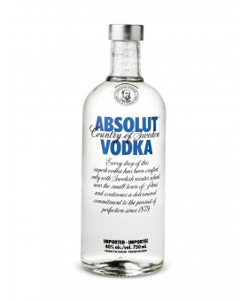 VODKA ABSOLUT - 70cl