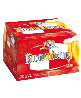 Kronenbourg - Pack 20x25cl