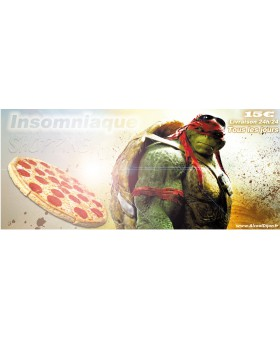 PIZZA TORTUES NINJA  - 8 PARTS