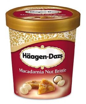 Häagen-Dazs - Macadamia nut brittle