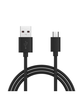 Cable micro usb noir