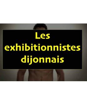 Dijon: quatre homme court nu dans la rue