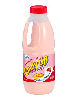 CANDY'UP FRAISE BOUTEILLE 1L