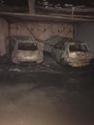 Dijon : des voitures en feu dans un parking souterrain