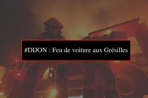 #DIJON : Feu de voiture aux Grésilles