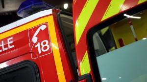 #Dijon : un feu de voiture en plein après-midi quai Nicolas-Rolin