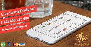 Livraison d'alcool Sur Dijon et ses Alentours 24/24 tous les jours, livraison immédiate !