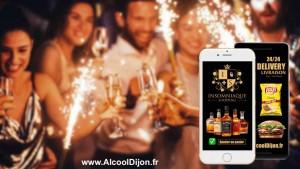 Livraison d'alcool et de fast-food à domicile sur Dijon et ses alentours 24/24