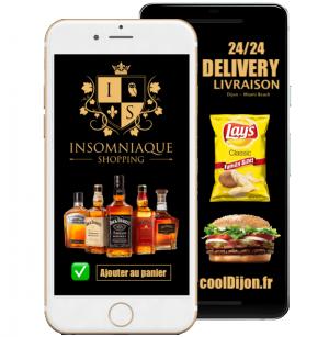 LIVRAISON d'alcool et de fast-food 24H/24 sur Dijon et ses alentours