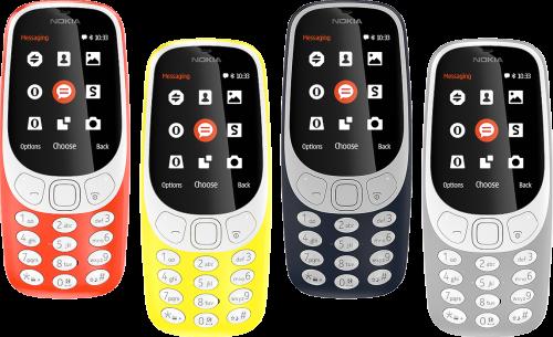 Le Nokia 3310 passe à la 3G, pour le buzz ?