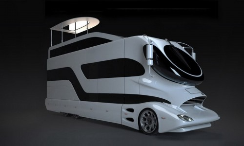 Ce camping car a été vendu à Dubaï pour 2 millions d'euros, l'intérieur est comme une suite d'hôtel!