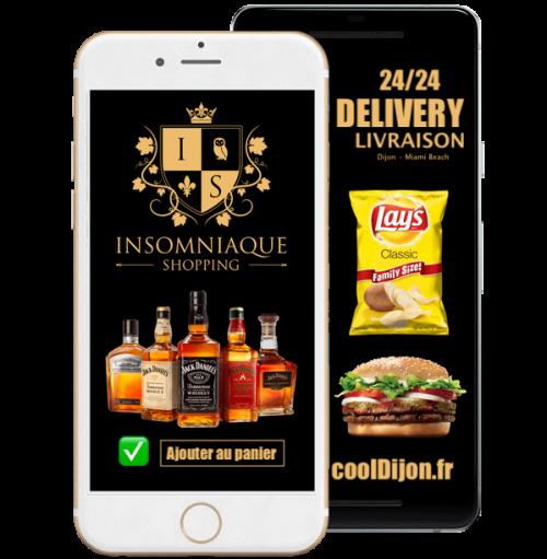 Livraison d'alcool À domicile, Livraisons de fast-food à domicile