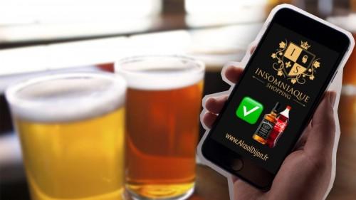 Livraison d'alcool sur Miami Beach (USA) et Dijon (France)